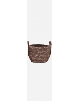 BASKET ARRAN RED / BROWN SMALL