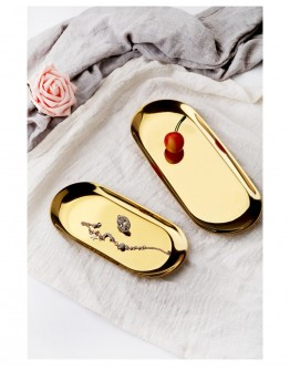 NORDIC STYLE GOLD TRAY