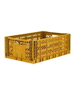 FOLDING BOX MAXI - MUSTARD