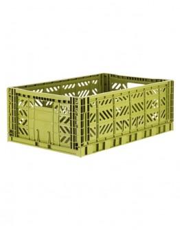 FOLDING BOX MAXI - OLIVE GREEN