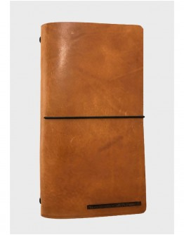 """ETERNAL"" LEATHER NOTEBOOK"