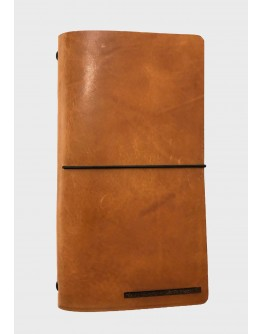 """""""ETERNAL"""" LEATHER NOTEBOOK"""