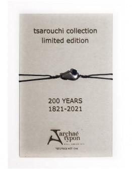 """TSAROUCHI"" BRACELET | BLACK OXIDIZED COLOUR - BLACK TASSEL"
