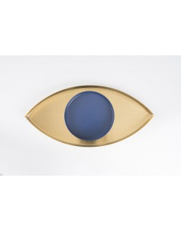THE EYE TRAY - GOLD AND BLUE