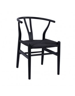 DINING CHAIR IN BLACK COLOR