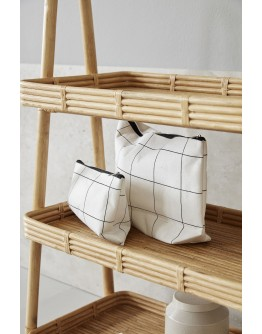 SQUARES TOILETRY BAG