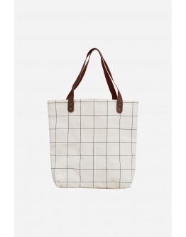 SQUARES SHOPPING BAG