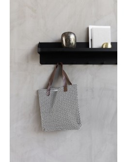 PARAN SHOPPING BAG - BLACK & WHITE