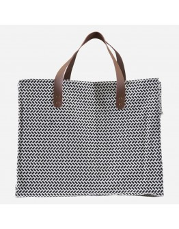 PARAN STORAGE BAG - BLACK & WHITE