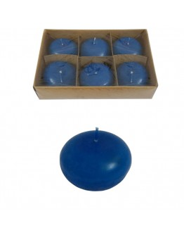 CANDLE BALL BLUE 5 CM