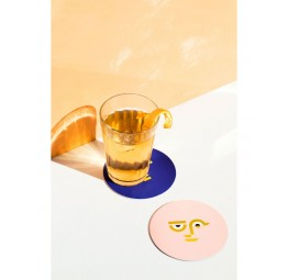 COCTAIL COASTER DOUBLE SIDED | APOLLO