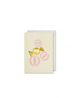 GREETING CARD CANDY