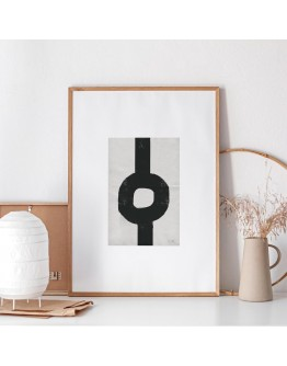 ABSTRACT 304 LINE DRAWING GICLEE ART PRINT | STUDIO PARADISSI