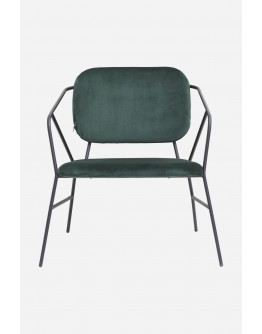 LOUNGE CHAIR, KLEVER, GREEN